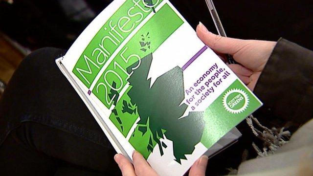 Scottish Green Party manifesto