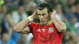 Gareth Bale in Wales kit
