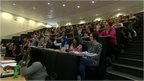 Students at University of Wolverhampton