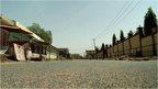Empty Nigerian street