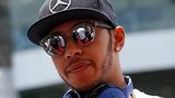 Lewis Hamilton at the Malaysia Grand Prix