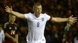 James Ward-Prowse celebrates scoring for England