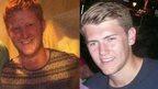 Neil Dalton, left, and Aidan Brunger