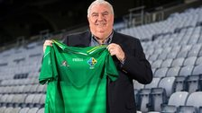 Joe Kernan is unveiled as Ireland's new International Rules manager