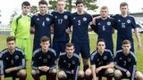 Scotland U19s line up to face Croatia