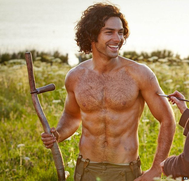 Ross Poldark gets em out for the girls