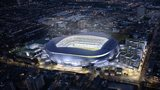 Artist impression of Tottenham's new stadium