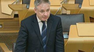 Rural Affairs Secretary Richard Lochhead