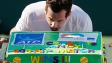 Andy Murray cake