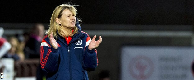 Anna Signeul recently signed a new two-year contract as Scotland coach