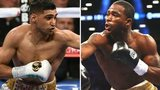 Amir Khan and Adrien Broner