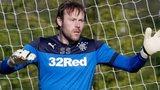 Rangers goalkeeper Steve Simonsen