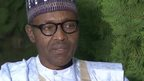 Nigeria's newly elected president General Muhammadu Buhari