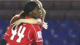 Liverpool Satara Murray scores against Sunderland