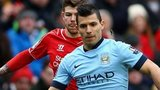 Manchester City forward Sergio Aguero