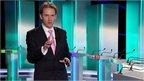 Ross Hawkins on set