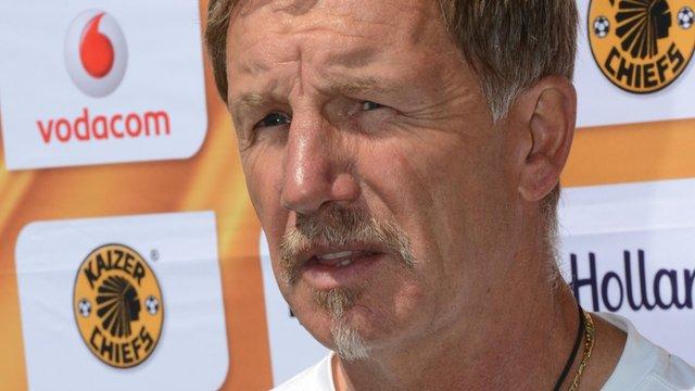 Kaizer Chiefs boss Stuart Baxter