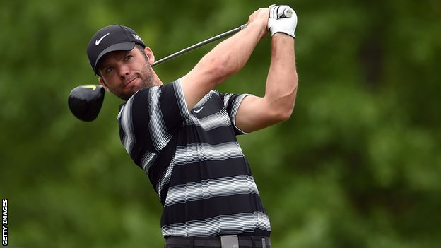 Paul Casey in third-round action at the Houston Open