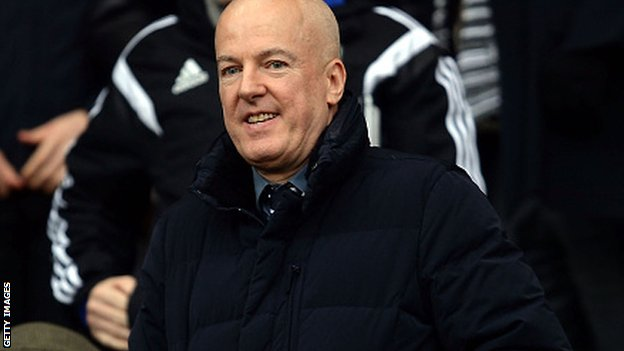 West Brom chairman Jeremy Peace