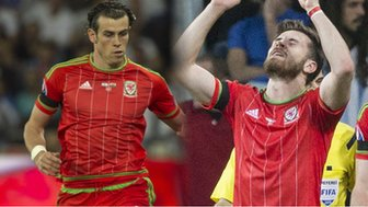Gareth Bale & Aaron Ramsey