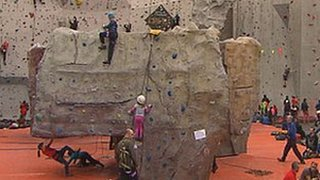 Edinburgh International Climbing Arena Ratho