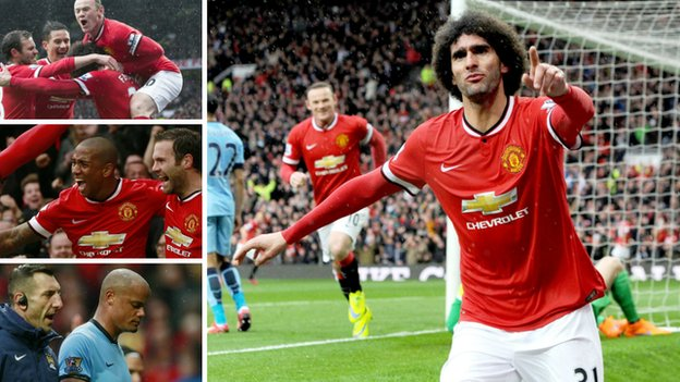 Manchester United 4-2 Manchester City