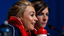 Anna Sloan and Eve Muirhead