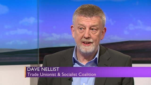 Dave Nellist of TUSC