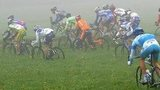 Riders in the Amstel Gold race