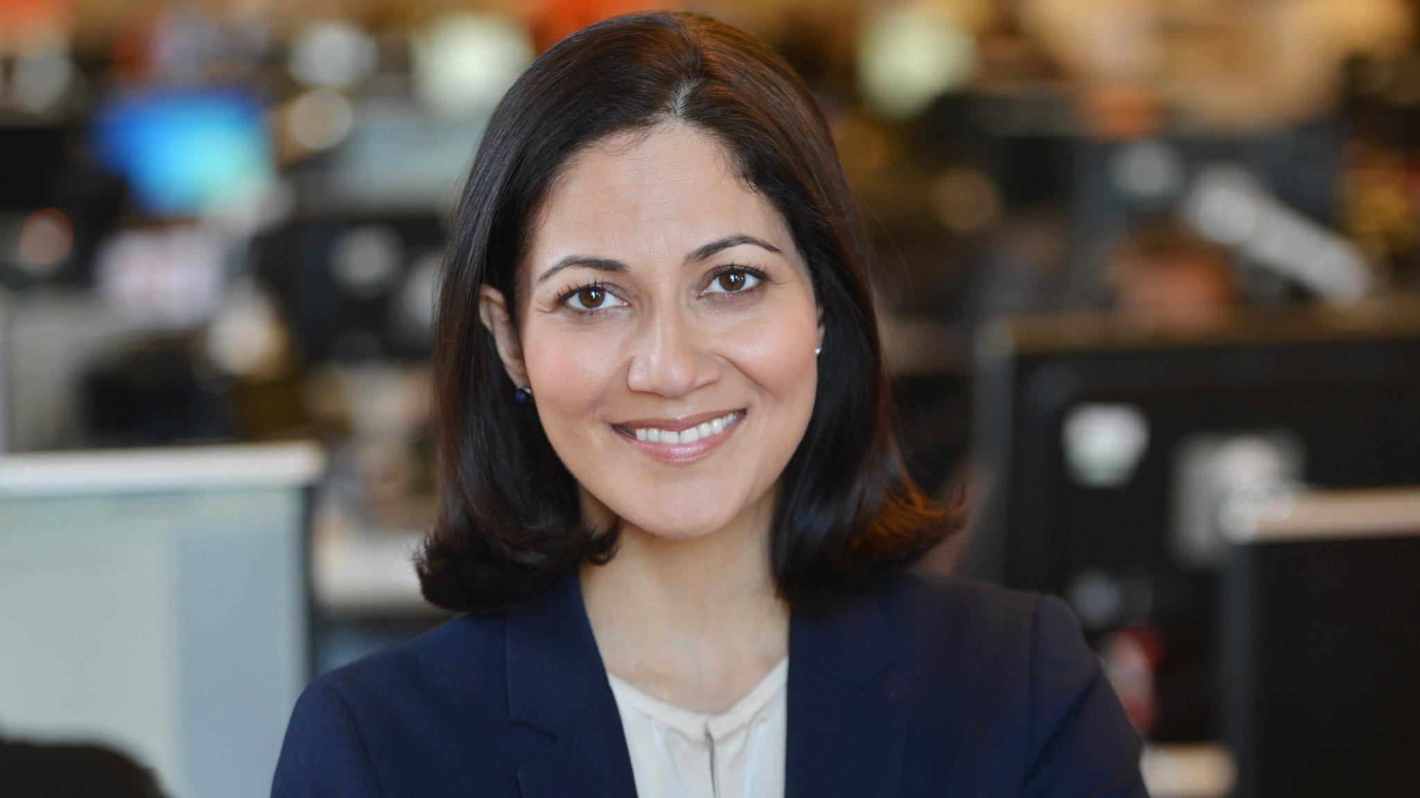 BBC's Mishal Husain na...