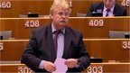 Elmar Brok speaks during the debate on 15 April 2015