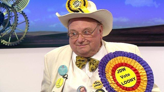 Alan Hope, aka The Howling Laud