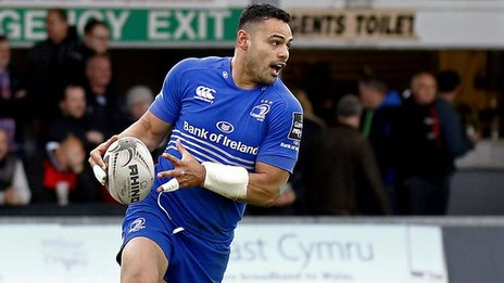 Ben T'eo stays at centre for Leinster
