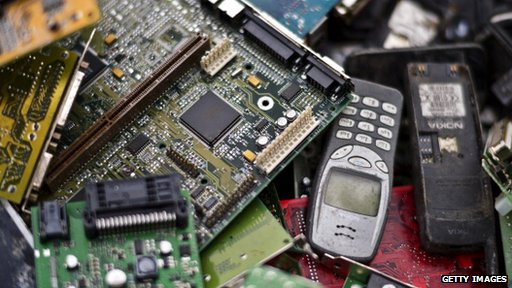 Microwaves and dishwashers dominate e-waste mountain