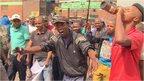 Men in Johannesburg