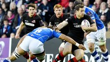 Edinburgh dominated the first half at Murrayfield