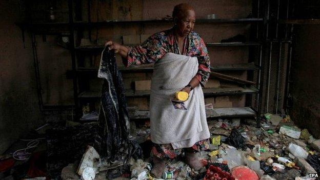 South Africa violence: Arrests follow Johannesburg attacks