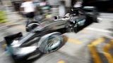 Lewis Hamilton in Bahrain