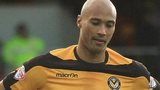 Newport County striker Chris Zebroski