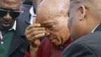 Jacob Zuma in the Chatsworth camp, 18 April