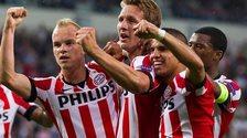 PSV striker Luuk De Jong