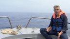 Richard Bilton on the Mediterranean
