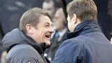 John Carver and Mauricio Pochettino