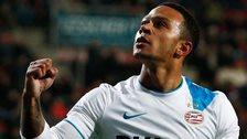 PSV Eindhoven forward Memphis Depay