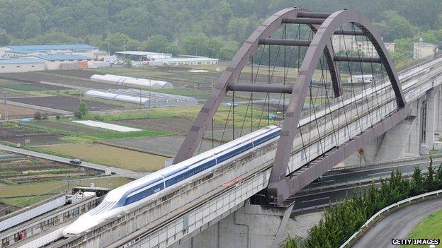 Japan maglev train breaks world speed record again