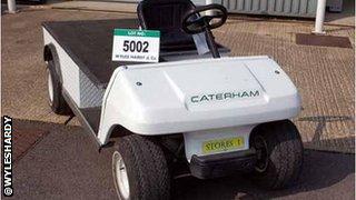 Caterham golf buggy