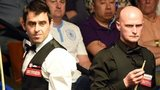 Ronnie O'Sullivan and Craig Steadman
