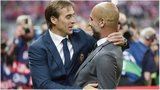 Julen Lopetegui and Pep Guardiola