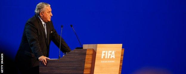 Jim Boyce addresses Fifa