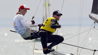 The activity allows able bodied and disabled sailors to sail together